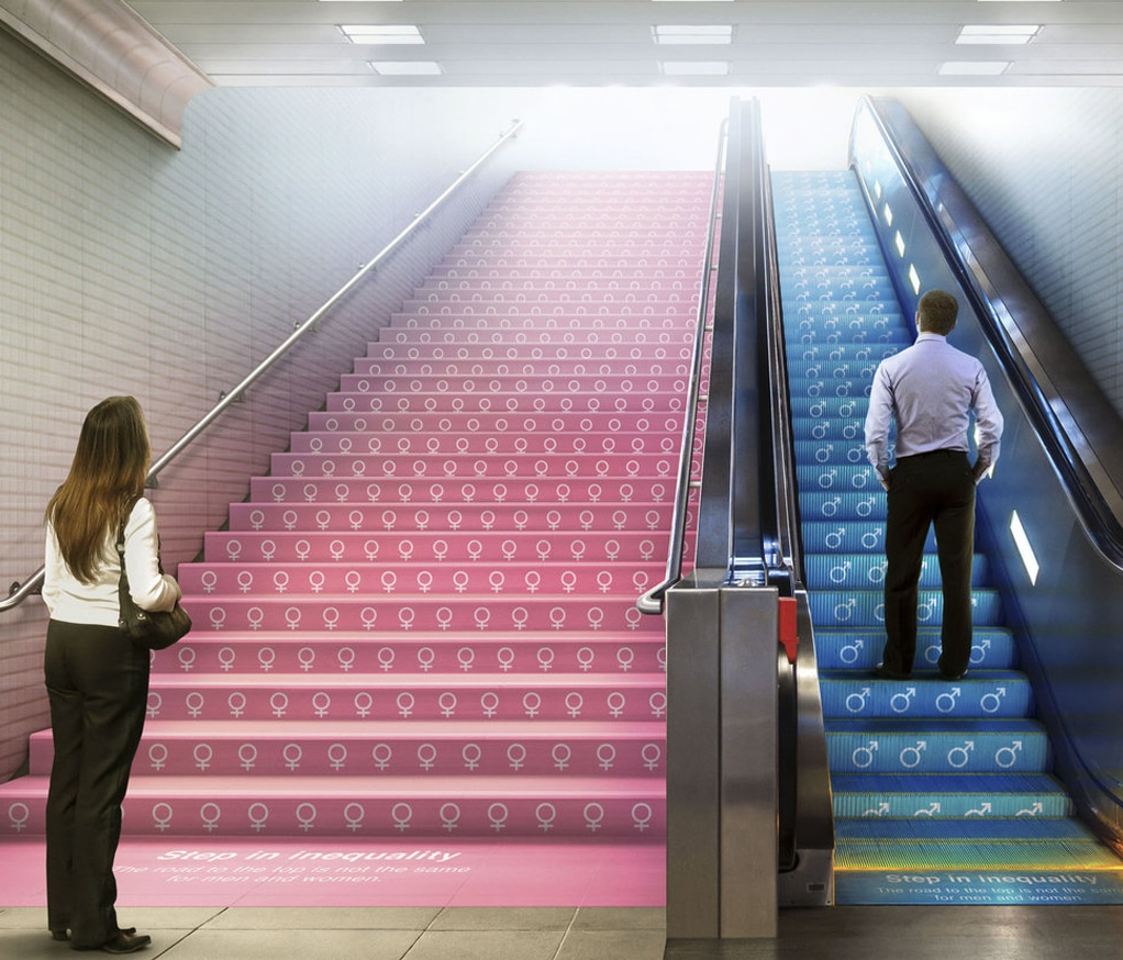 Step in Equality - Guerilla Marketing