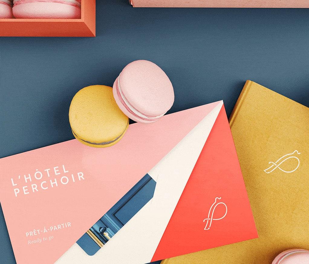 L'Hotel Perchoir - Identity Design